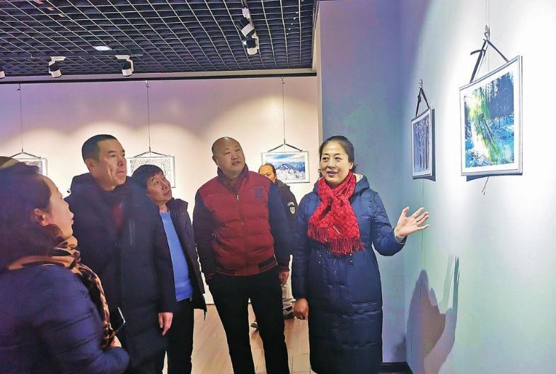 150余幅艺术作品展现白山冬季之美