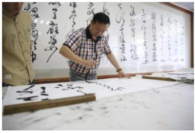 慢点富文化顾问张香民:中国当代书画艺术领军人物