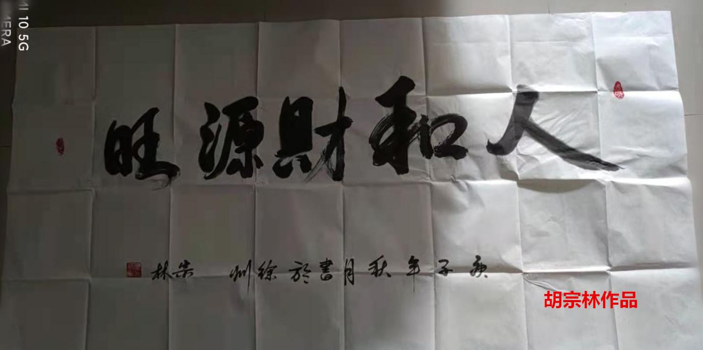 书法家胡宗林作品欣赏