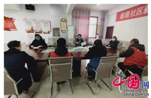 徐州经济技术开发区泰隆社区青年引领疫情防控