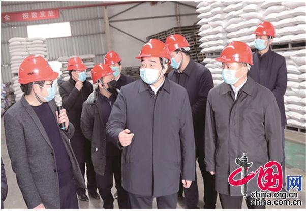 周铁根到新沂市调研指导疫情防控和农业生产