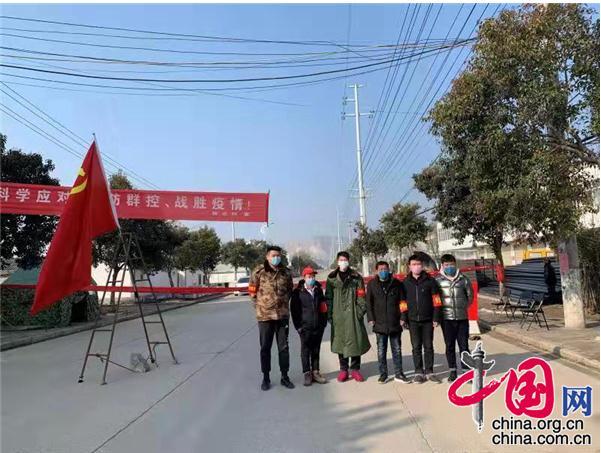 """安徽淮北市充分发挥党组织优势,筑牢抗""""疫""""长城"""