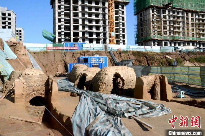 山东德州一建筑工地发现东汉古墓 将进行拆解保护