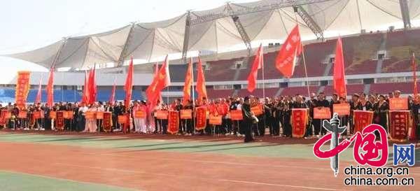 淮北市成功举办全国第三届健身鞭精英赛