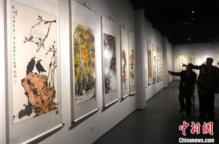 海峡两岸艺术家书画作品展福州开展