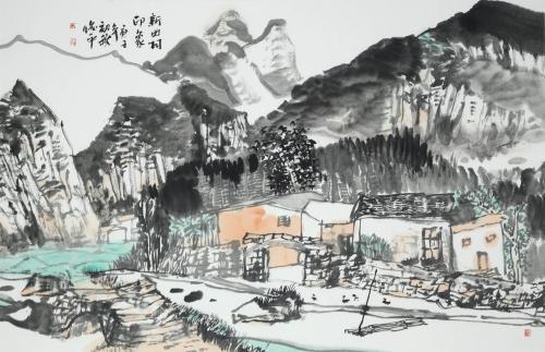 广西美术出版社举办书画暨精品图书展