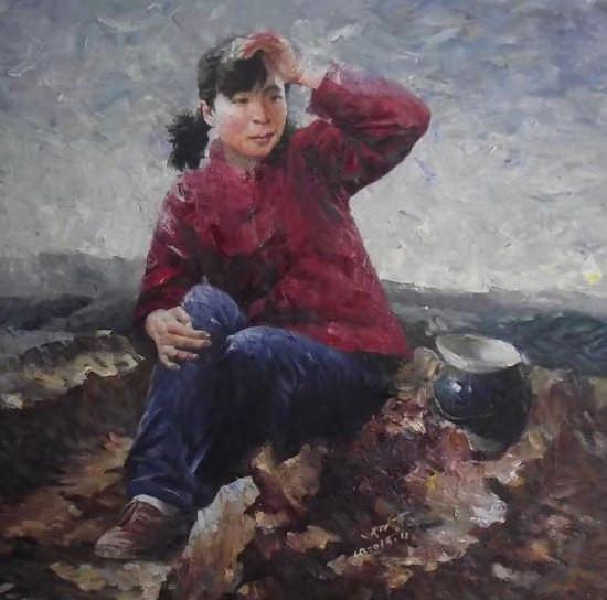 青年油画家张万东作品欣赏