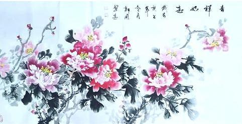 写尽牡丹富贵之气韵 --记实力派画家王新明