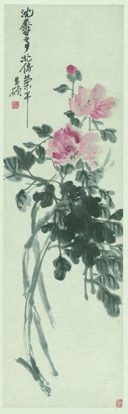 墨中的色彩 枯木中的生机――跟着吴昌硕去赏花