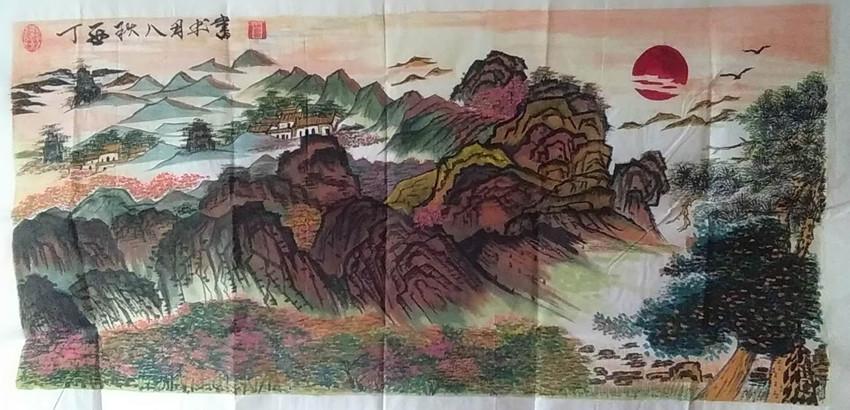 杨太全书画作品