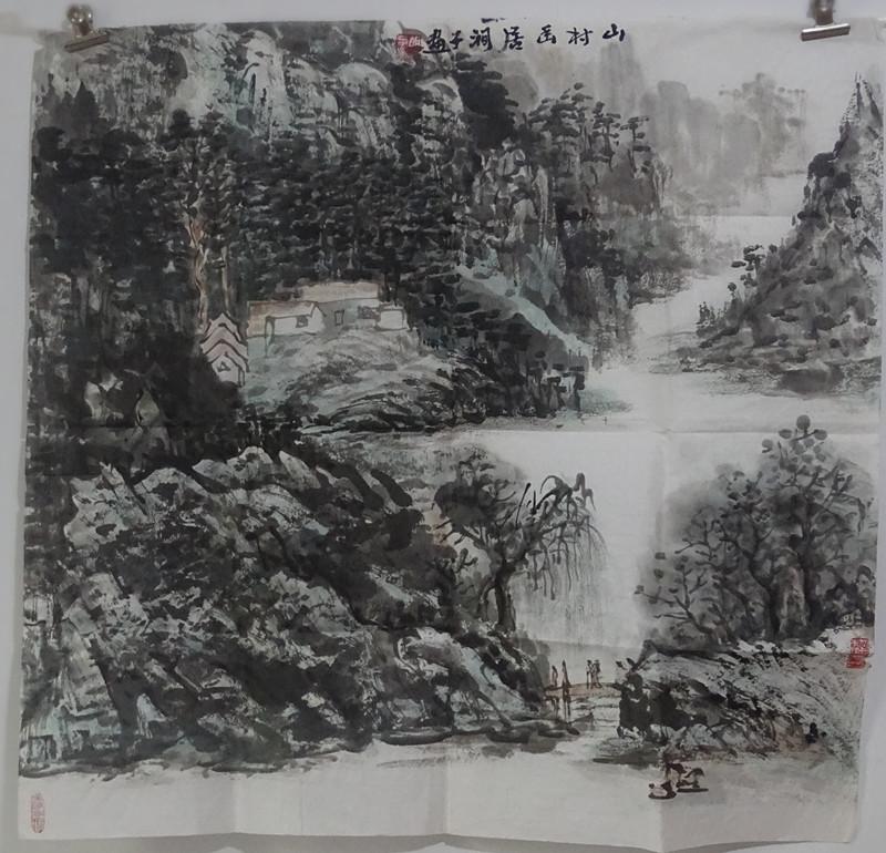 国画名家胡涧子作品欣赏