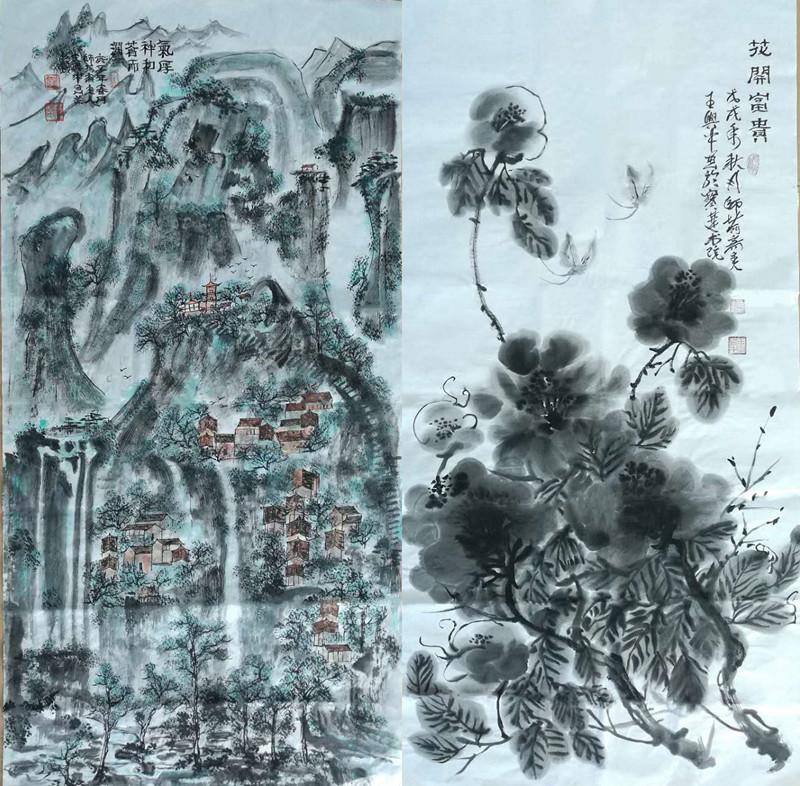 书画家---王兴中作品赏析